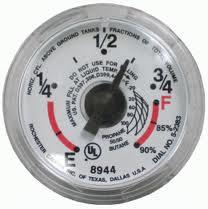propane tank gauge sticking? propane tank store